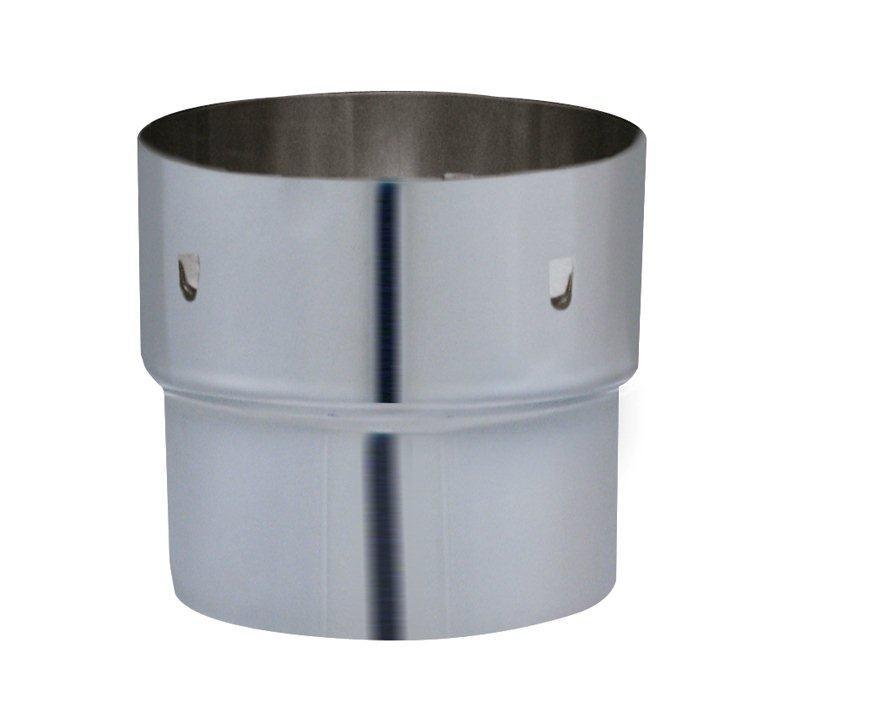 Adaptador  tubo acero (abajo) a flex