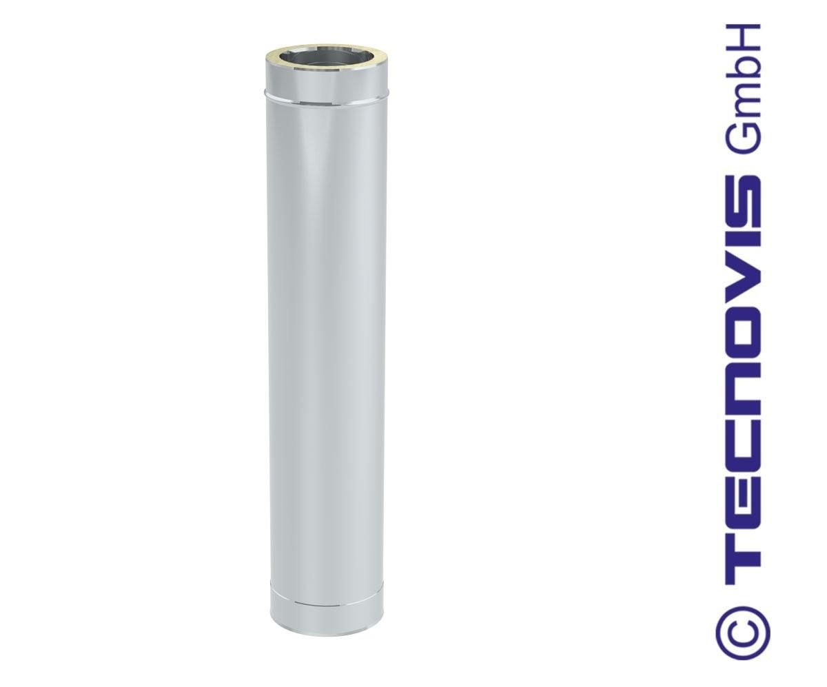 Tubo de chimenea 1 mtr altura = 94 cm