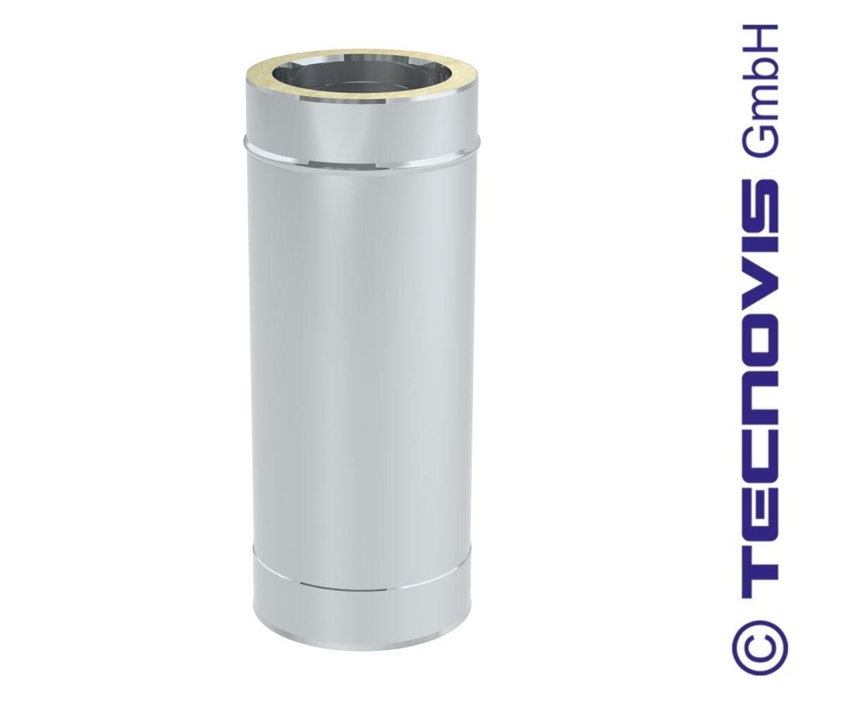 Tubo de chimenea 50 cm alto = 44 cm