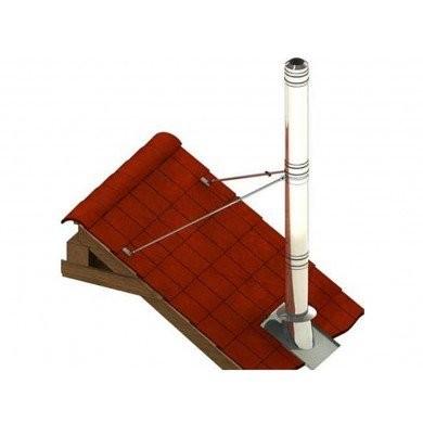 Brazos de fijación de techo - 2.5 mtr max.