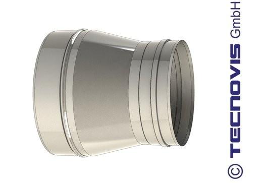 Adaptador caldera hembra 250 a 200 mm
