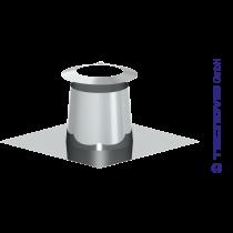 Cubreaguas 0 - 5º inox con collarin antitormenta