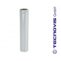 Tubo de chimenea 1 mtr alto = 94 cm