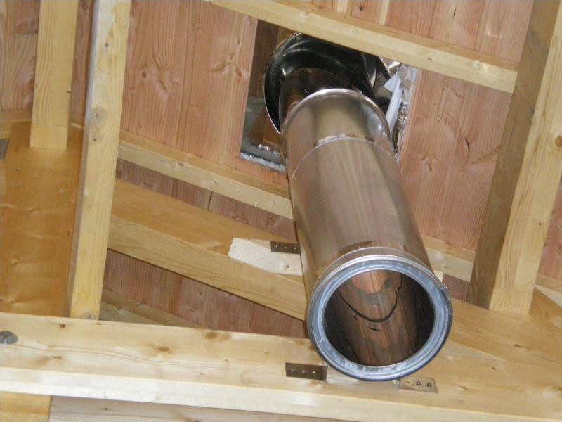 Diámetro requerido para un tubo de chimenea