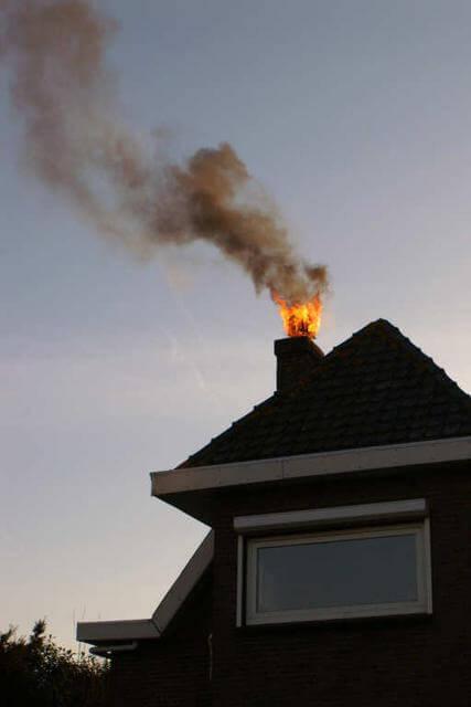 schoorsteenbrand
