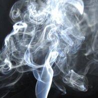 humo en la habitación